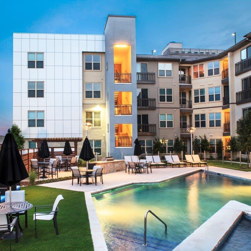 Poolside at The Avant #jhparch #architecture #multifamily #urban #infill #designdistrict
