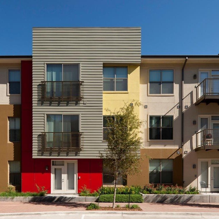 Color blocking with Legacy North #multifamily #jhparch #architecture #ColumbusReality #legacytowncenter