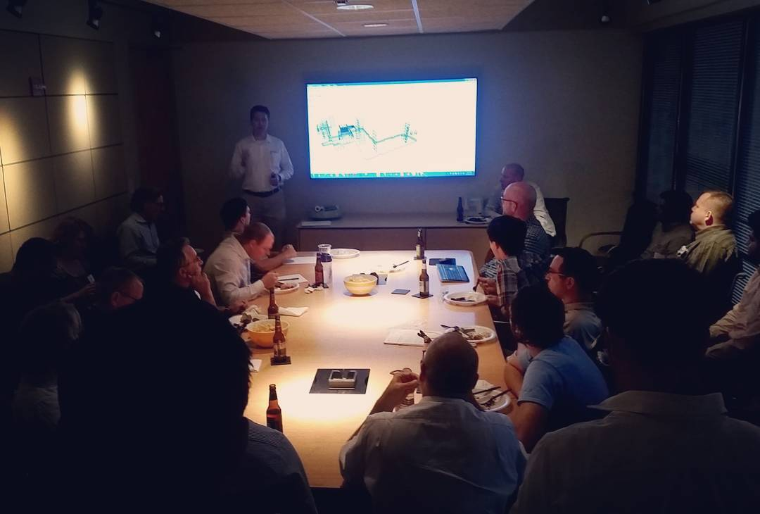 Thanks to @graphisoft for hosting a #BIM user group in our house. Cheers! #jhparch