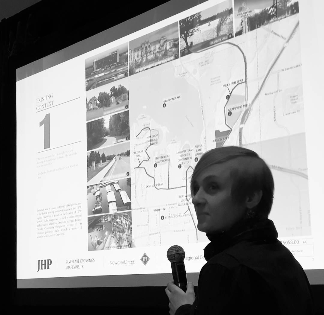 @hilaolga Presenting a large mixed-use development & master plan design for Grapevine. #jhparch